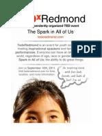 TEDxRedmond Poster