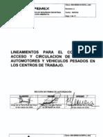 800 800000 DCSIPA L 02 Control Vehicular PEMEX