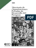 Directorio de Organizaciones Privadas de Desarrollo Del Paraguay 2009 - Portal Guarani