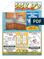 Tommy D's Home Improvement August 2011 Booklet