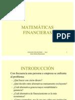 Unid 2 - Matemáticas Financieras