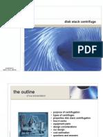 Disk Stack Centrifuge