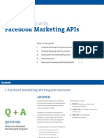 Getting started with Facebook Marketing APIs