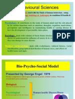 Behavioral Sciences