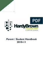 Hbcp Handbook 2011-12