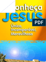 Jesus o Unico,Imcomparavel,Maravilhoso