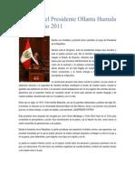Discurso Del Presidente Ollanta Humala