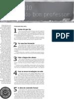 Reportagem_perfil Do Bom Professor