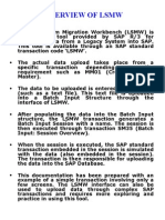 LSMW Overview