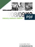Gambling Industry Statistics 2009 2010 WEB - January 2011
