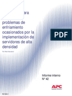 Enfriamiento en Servidores - Informe Tecnico APC