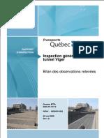 Rapport Inspection Tunnel Vigier 2008-05-22