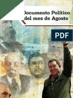 Documento Politico Agosto Version Distribucion