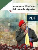 DOCUMENTO HISTÓRICO AGOSTO