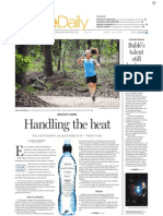 Acclimatizing to the heat | Fitness | The Dallas Morning News