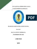 sylabus de  ginecología  2011..FINAL