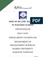 Rise of Islamic Banking in Western Europe