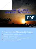 A Focus on Intra Abdominal Infections