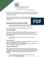 Primer Examen Finanzas