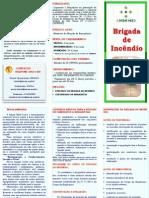FOLDER CURSOS AMEM - BRIGADA DE INCÊNDIO
