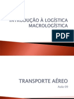 INTRODUÇÃO À LOGÍSTICA_aula09
