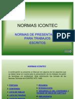 NORMAS ICONTEC PRESENTACIÓN TRABAJOS ESCRITOS
