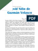 DAVID NIÑO DE GUXMAN