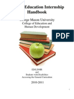 Special Education Internship Handbook