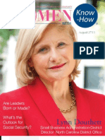 Women With Know How August 2011 Issue