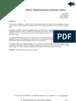 Steel Plant Supply and Demand Balanced Planning