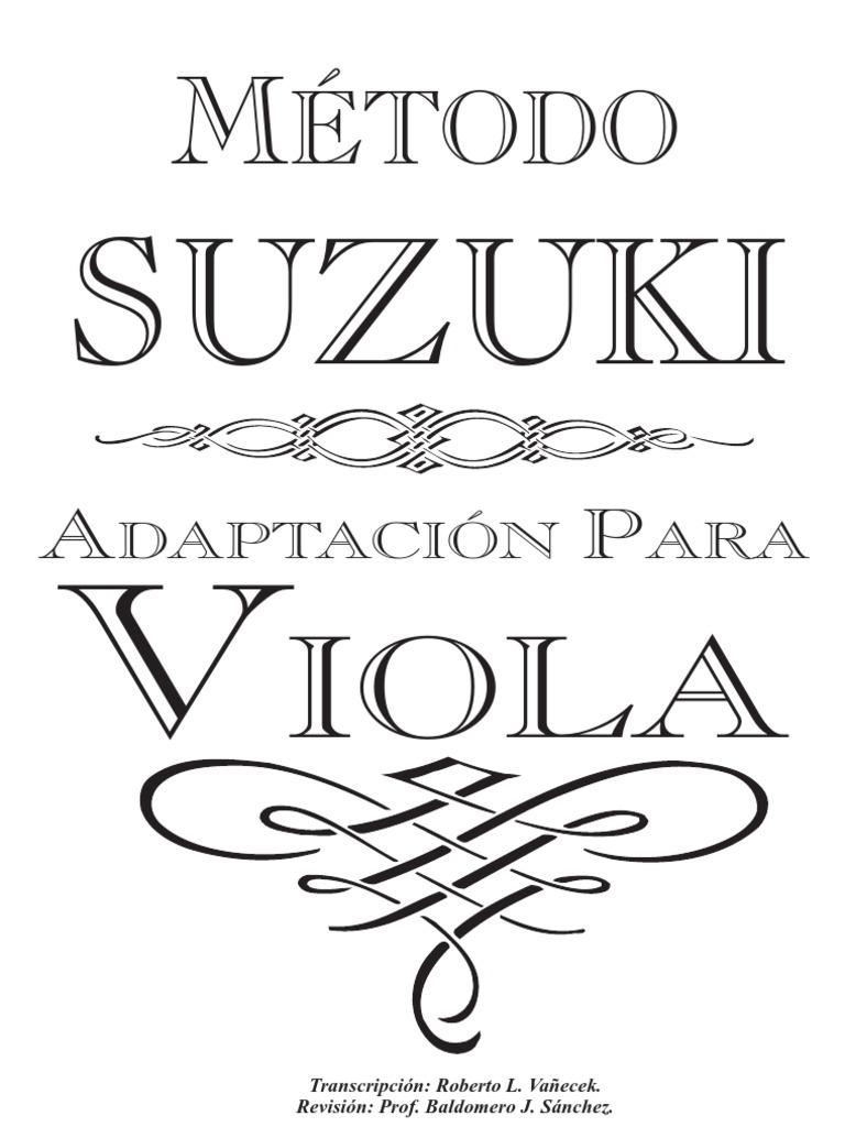 Suzuki: Étodo