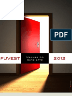Manual Do Candidato Fuvest 2012