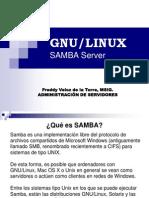 Linux Fedora 13-SAMBA