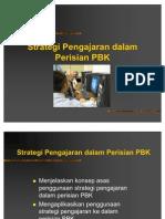 Kuliah4-Straregi Pengajaran Dlm Perisian PBK