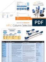 HPLC Column Selection Guide