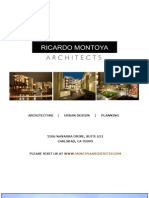 RM Architects Brochure