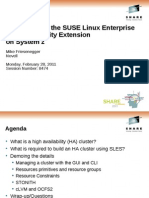 8474_Implementing the SUSE Linux Enterprise High Availability Extension on System z