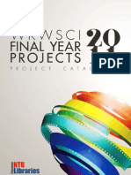 WKWSCI Final Year Projects 2011 Exhibition Project Catalogue