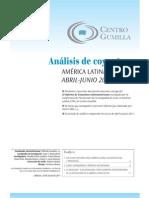 XI análisis de coyuntura abril-junio 2011