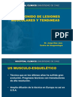 ULTRASONIDO DE LESIONES MUSCULARES Y TENDíNEAS