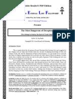 The Most Dangerous of Deceptions (Rev 6)