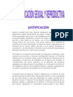PLAN DE EDUCACIÓN SEXUAL Y REPRODUCTIVA 2011