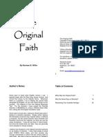The Original Faith v1.1 Home Printable