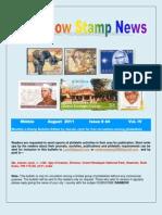 Rainbow Stamp News August 2011 Issue