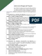 Capítulo 11 y 12 PMBOOK 4ta Edición