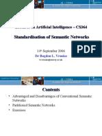 semantic networks standardisation