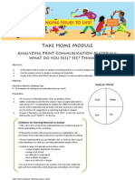 Take Home Module Handout April2011