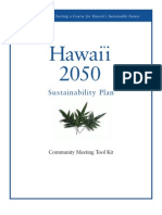 2050 Sustainability Plan Community Meeting Toolkit