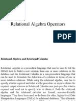 relation algebra operation
