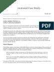 Nokia Supply Chain Case Study